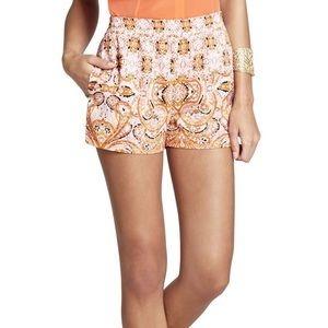 BCBG pattern shorts
